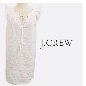 J. Crew white 100% cotton Shift dress size Small